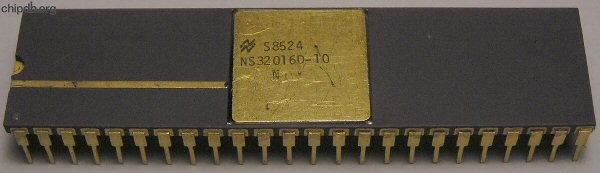 National Semiconductor NS32016D-10