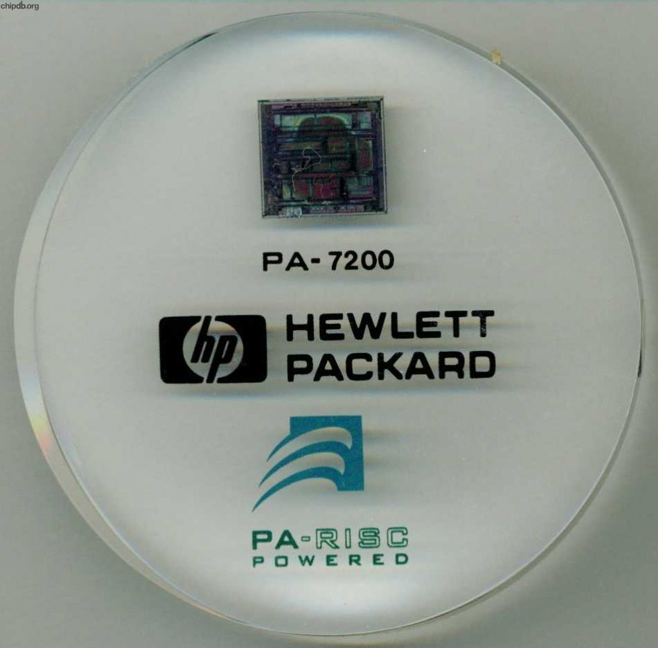HP PA-7200 paperweight