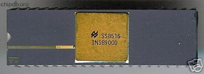 National Semiconductor INS8900D IMP-16