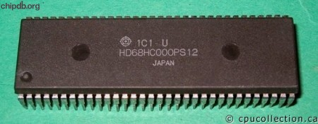 Hitachi HD68HC000PS12