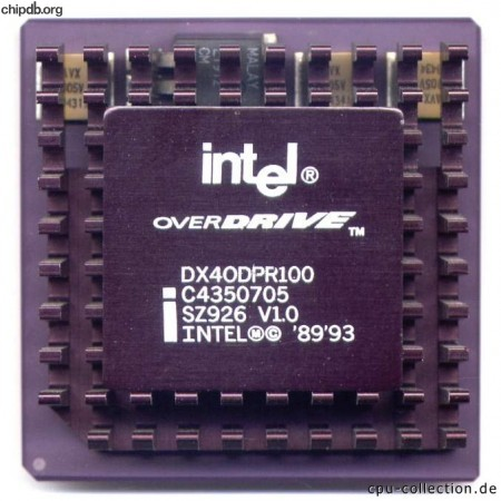 Intel DX4ODPR100 SZ926 V1.0
