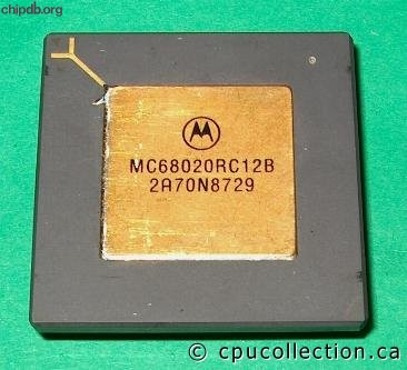 Motorola MC68020RC12B