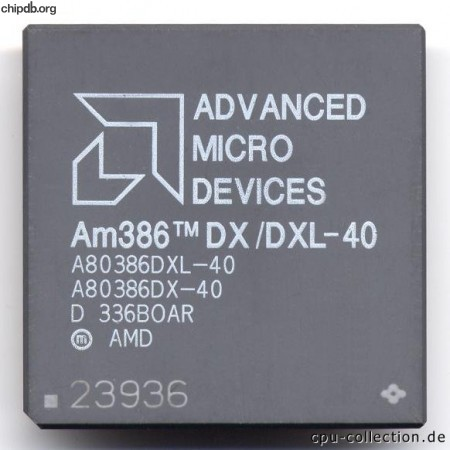 AMD A80386DX/DXL-40 rev D