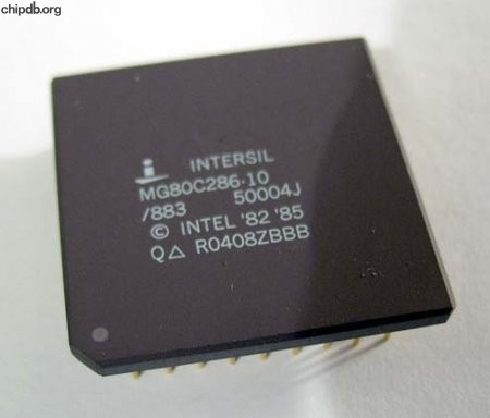 Intersil MG80C286-10