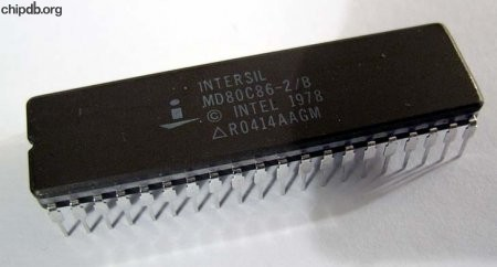 Intersil MD80C86-2/B