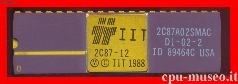IIT 2C87-12 diff pin1 marker