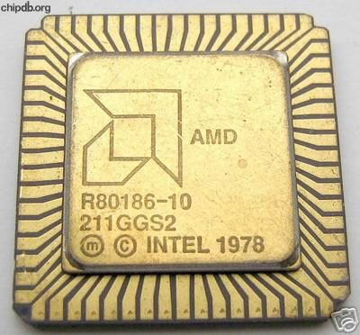 AMD R80186-10 big logo diff print