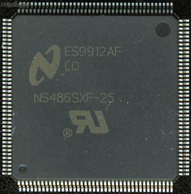 National Semiconductor NS486SXF-25