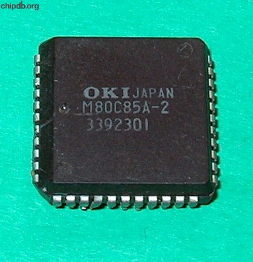 OKI M80C85A-2 plcc package