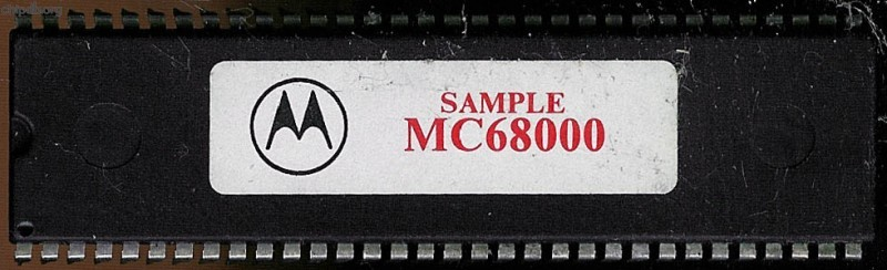 Motorola MC68000 SAMPLE