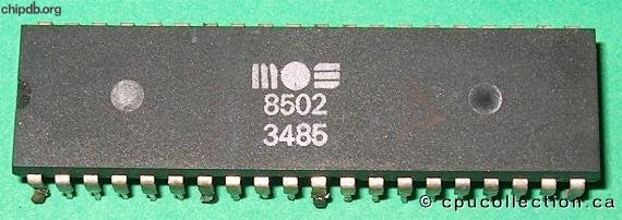 MOS 8502 diff package