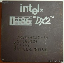 Intel A80486DX2-66 SX762 FAKE