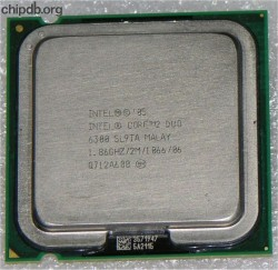 Intel Core 2 Duo 6300 1.86GHZ/2M/1066/06 SL9TA