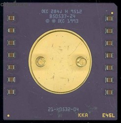 DEC Alpha EV45 21064 21-40532-04 with capacitors
