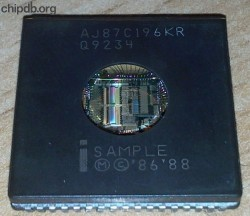 Intel AJ87C196KR Q9234 SAMPLE