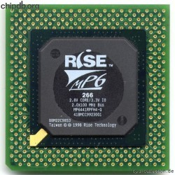 Rise mP6 266 2.0x100MHz