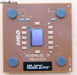 AMD Athlon Mobile XP-M 1600+ AXMD1600FJQ3C AIUHB