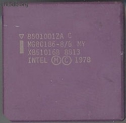 Intel MG80186-8/B MY