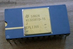 National Semiconductor NS32081D-15