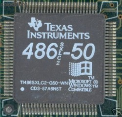 Texas Instruments TI486SXLC2-G50-WN