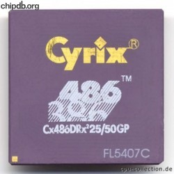 Cyrix Cx486DRx2 25/50GP
