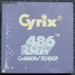 Cyrix Cx486Drx2 20/40GP