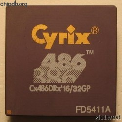 Cyrix Cx486DRx2 16/32GP