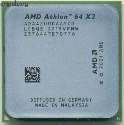 AMD Athlon 64 X2 4200+ ADA4200AA5CD LCBQE