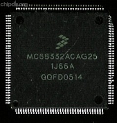 Freescale MC68332ACAG25