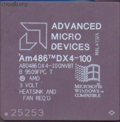 AMD A80486DX4-100NV8T