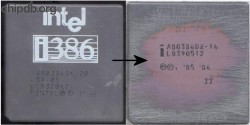 Intel A0386DX-20 SX105 FAKE