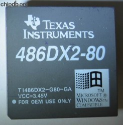 Texas Instruments 486DX2-G80-GA FAKE