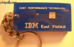 IBM East Fishkill lucite keychain