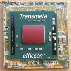 Transmeta Efficeon TM8600 860013