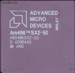 AMD A80486SX2-50 no windows logo