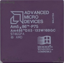AMD Am486-DX5-133W16BGC