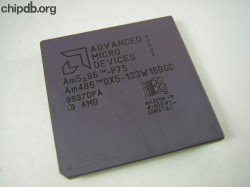 AMD Am486-DX5-133W16BGC engraved no N
