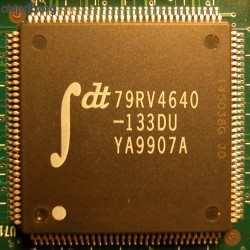 IDT 79RV4640 MIPS based microcontroller
