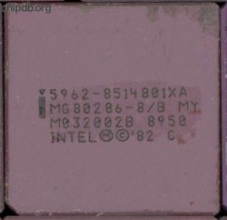 Intel MG80286-8/B MY