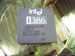 Intel A80386DX-20 SX214