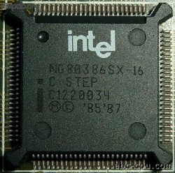 Intel NG80386SX-16 C STEP