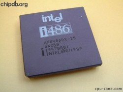 Intel A80486DX-25 SX250