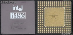 Intel A80486DX-33 SX419 no DX logo