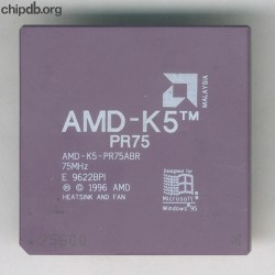 AMD AMD-K5-PR75ABR rev E no N in corner