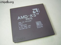 AMD AMD-K5PR75ABR rev F no N