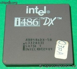 Intel A80486DX-50 SX710