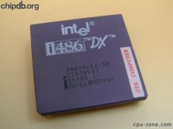 Intel A80486DX-50 SX705