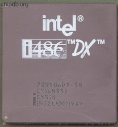 Intel A80486DX-50 SX518