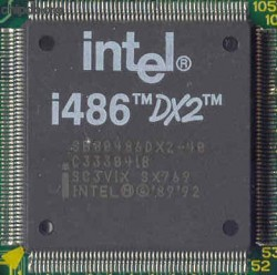 Intel SB80486DX2-40 SX769
