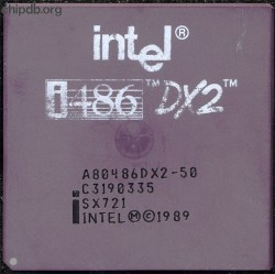 Intel A80486DX2-50 SX721